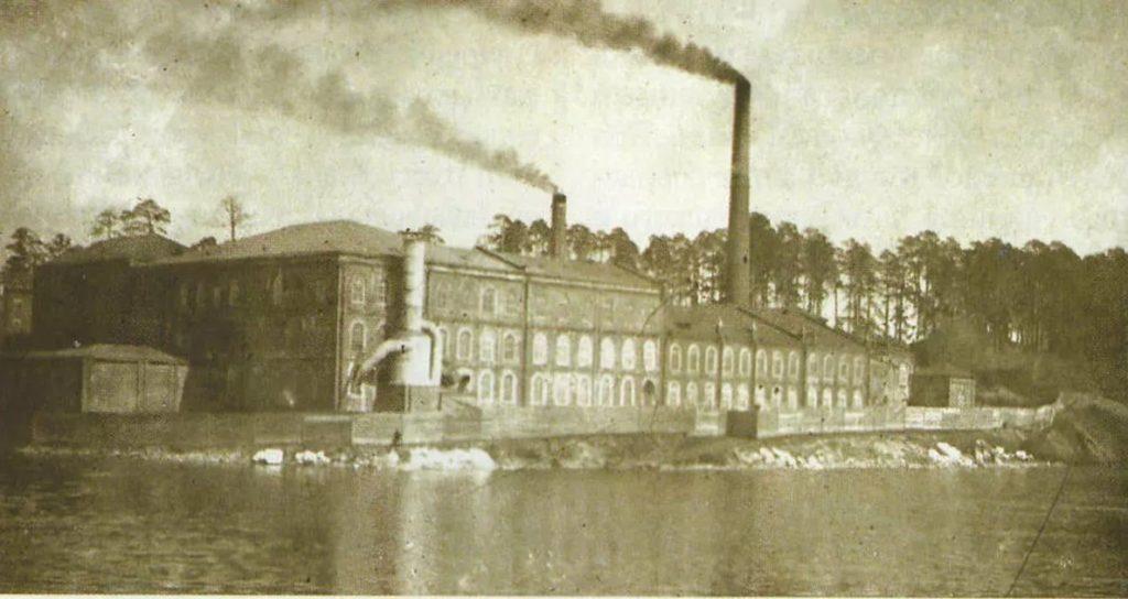 Касимовская сетевязальная фабрика. История: Троицкая машинная канатная фабрика