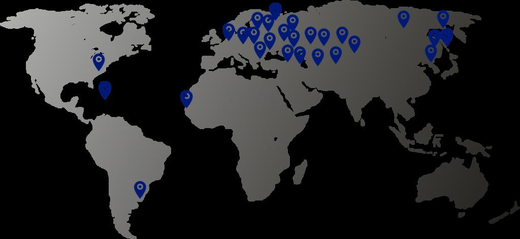 география поставок продукции Касимовсеть